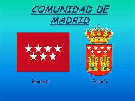 i comunidad de madrid industriamadridccooes comunidad de madrid bandera escudo ppt video online