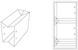 paper bag template paper bag template images