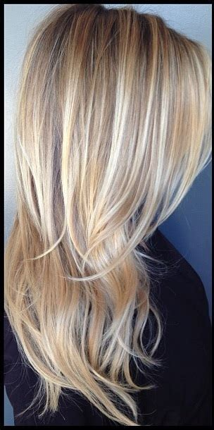 blonde and lowlights for medium straight hair multidimensional blonde jonathan george