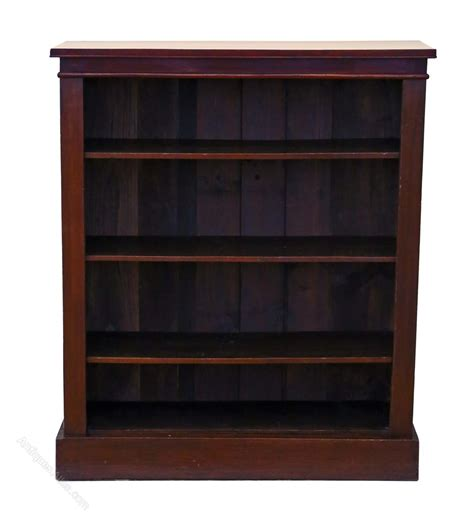 Open Bookcase by Mahogany Open Bookcase Shelves Antiques Atlas