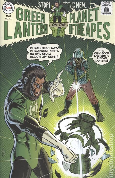 planet of the apes green lantern books green lantern comic books issue 3