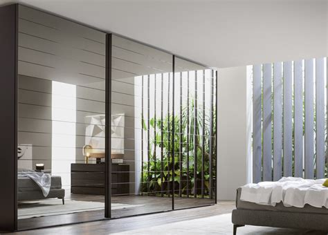 Mirror Sliding Wardrobe by Novamobili Mirror Sliding Door Wardrobe Mirror