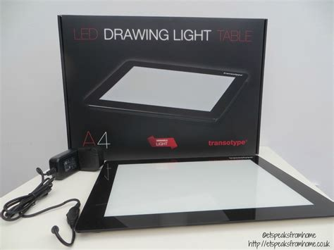 Light Table For Drawing by Transotype Led Drawing Table Review Et Speaks From Home