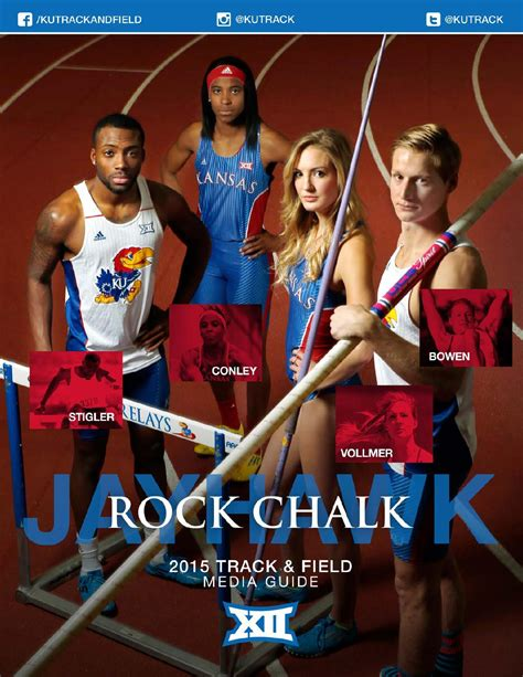 How To Sign For An Undergrad Course Sloan Mba by 2015 Kansas Track Field Media Guide By Kansas Jayhawks