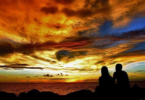 samudra diatas awan wallpaper lukisan alam erwinperkasa