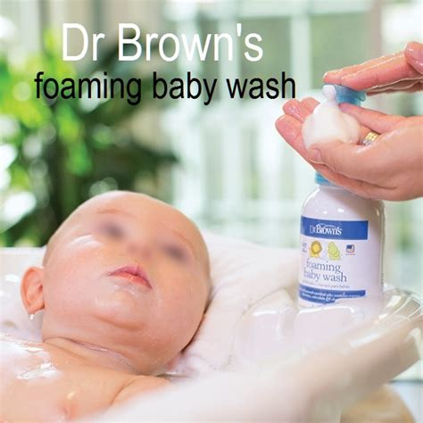 Baru Wash The Bpom dr browns foaming baby wash sabun dan shoo bayi bahan alami