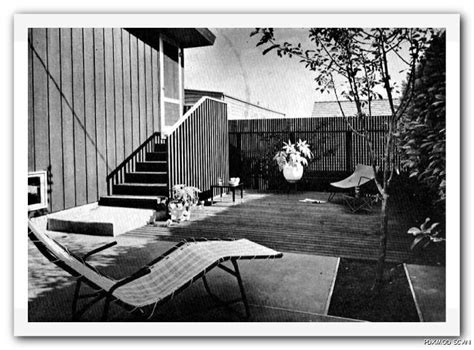 hillside haven with two levels of outdoor living hwbdo76794 a 1963 modern decks outdoor living hillside low level