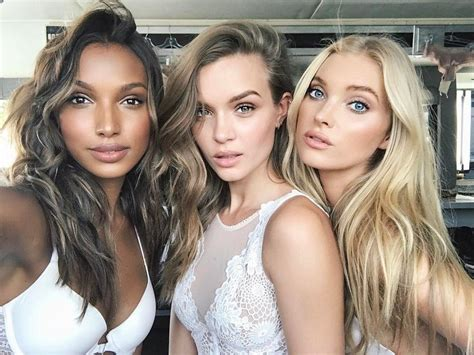 victoria secret models in real life victoria s secret angels elsa hosk and josephine skriver