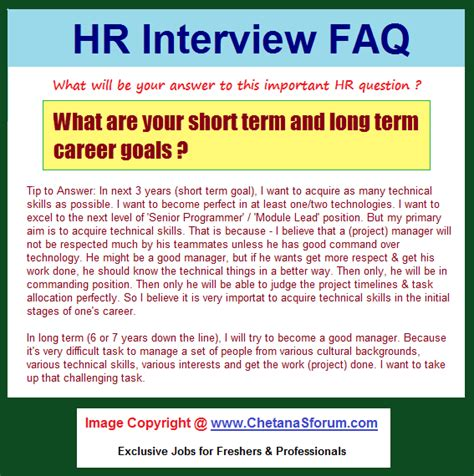 what are your range career objectives what is your term career objective 28 images what are