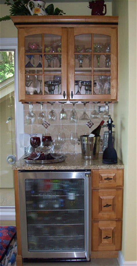 Kitchen Corner Bar Ideas Corner Bar Traditional Kitchen Ta
