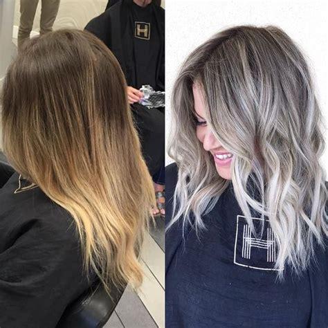blending greys with med ash blond холодный блонд пепельный блонд 100 фото окрашивание