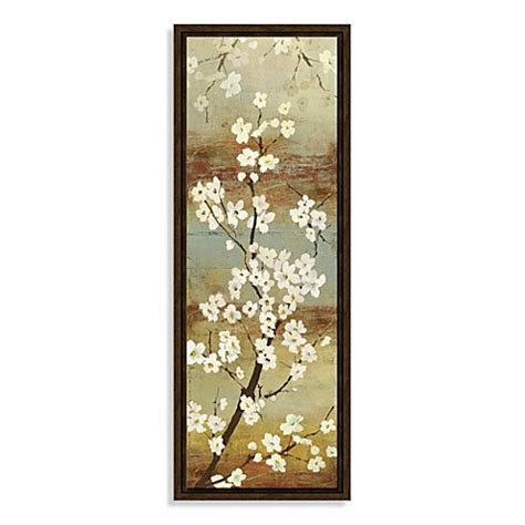 bed bath beyond wall decor blossom canopy i framed wall art bed bath beyond