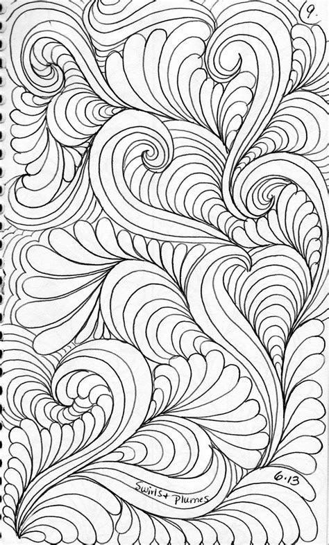 pattern background sketch luann kessi from my sketch book
