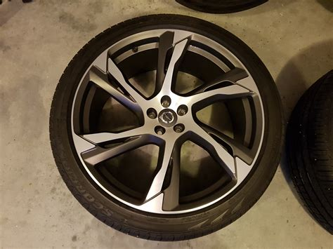 10 22 Tech Mat - 22 quot 6 spoke tech black matt for sale volvo