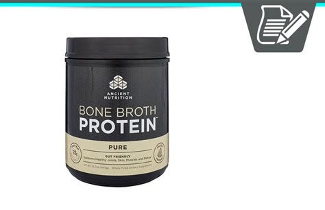 Dr Axe Secret Detox Drink Reviews by Bone Broth Protein Review Is Dr Axe S Superfood Powder
