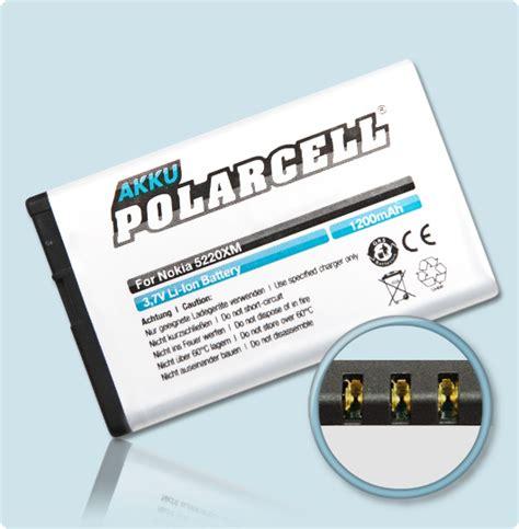 Batre Vizz Nokia Bl 5ct polarcell battery nokia 6303i 3720 5220 c3 01 c5 00 bl 5ct