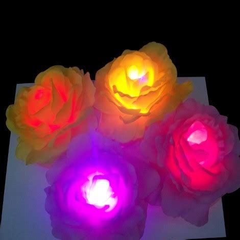 Led Waterproof Flower L Aa Pcwc04 led waterproof flower l aa pcwc04 yellow jakartanotebook