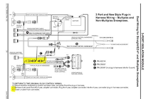 snow plow wiring diagram fuse box and wiring diagram
