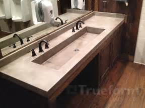 commercial bathroom sinks trueform decor