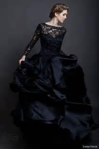 Wedding dresses spring 2016 black wedding dresses and black