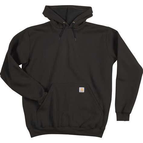 Sweatshirt Workwear Black carhartt s workwear hooded pullover sweatshirt big style model k121 northern tool