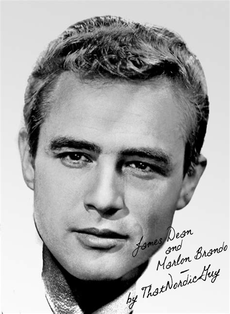 james dean marlon brando by thatnordicguy on deviantart