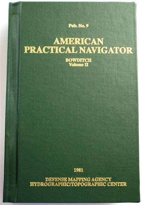the american practical navigator vol 1 bowditch volume 1 books ship store mpt maritime professional