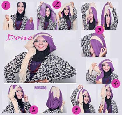 tutorial hijab wisuda foto cara memakai hijab untuk wisuda terbaru cara memakai jilbab