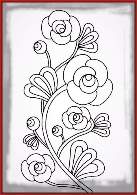 imagenes de rosas faciles adorables dibujos de rosas coloreadas imagenes de rosa