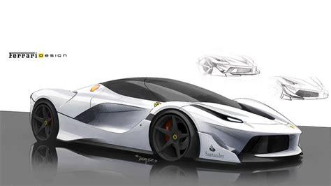 ferrari laferrari sketch here s how ferrari designed the insane fxx k the o jays