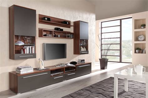 wall unit with desk and tv floating wall units for living room modern white living