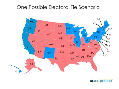 how many swing states are there the anatomy of an electoral college tie mapping out the