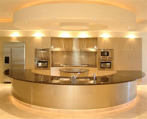 Golden Kitchen golden interior design ideas for modern kitchens and