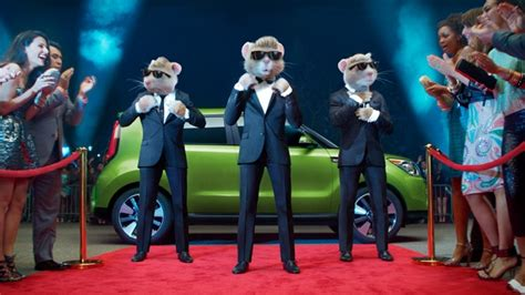 Kia Soul Rat Commercial Ad Of The Day Kia S Hamsters As You Ve Never Seen Them