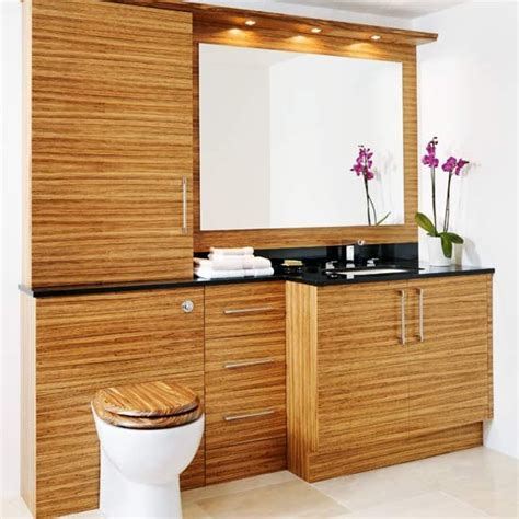 bathroom wooden storage wooden bathroom fitted bathrooms housetohome co uk