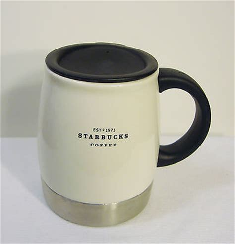coffee cup rubber st starbucks desk coffee mug lid stainless steel rubber