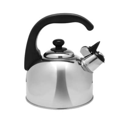 stainless steel whistling kettle 2 5l 39 95 whitworths marine