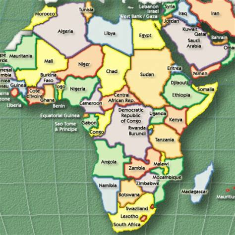 africa map labeled map of africa countries labeled 1 jpg