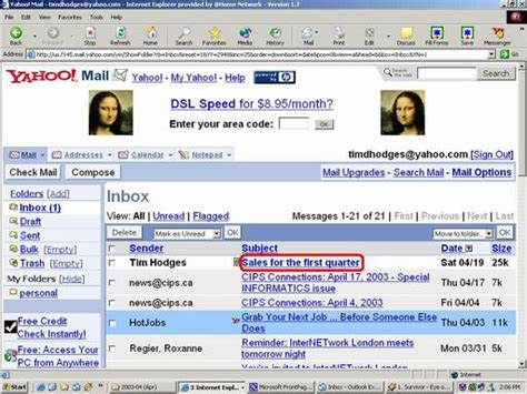 yahoo mail layout messed up weight loss web pages