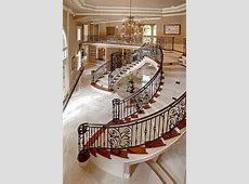 Inside Mansion - Beautiful Staircase (StartingYourOwn.net ... Inside Mansion House