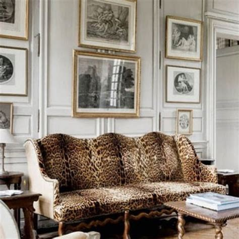 animal print couches animal print sofa maison de reve pinterest