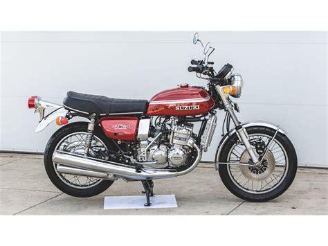Suzuki Motorcycles Las Vegas Suzuki Gt 750 For Sale 12 Used Motorcycles From 2 000