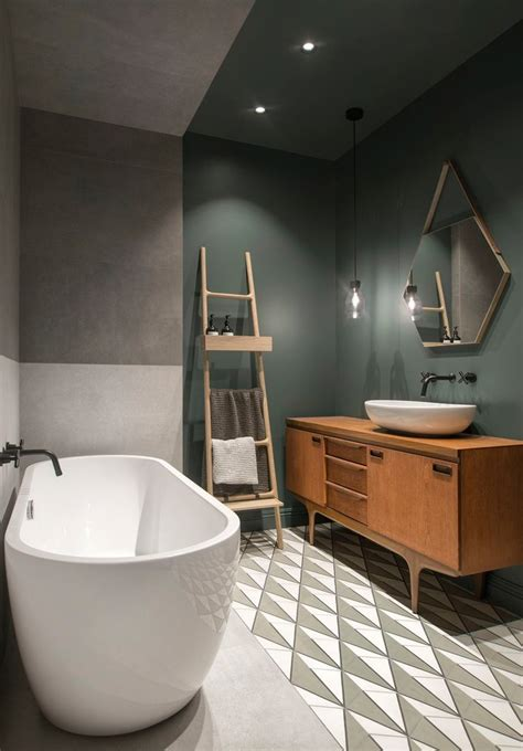 inspiring designs  scandinavian bathrooms  black