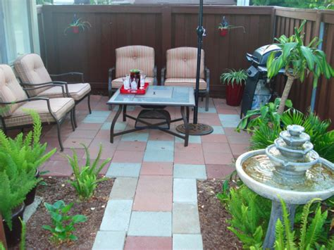 Small Condo Patio Design Ideas Small Patio Makeover Patio Designs For Small Backyard