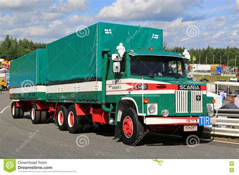 Truck Ls by Scania Ls 140 Cargo Truck Editorial Image Image Of