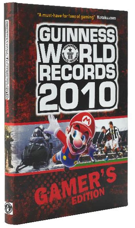 guinness world records 2010 guinness world records 2010 gamer s edition review tech digest
