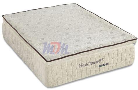 bed boss mattress crown pillowtop memory foam mattress from the bed boss