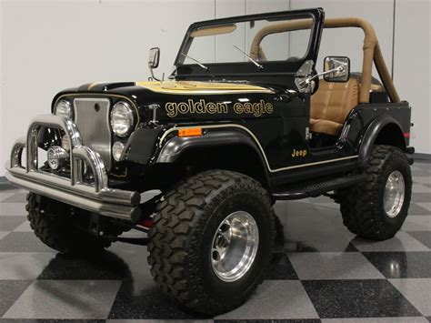 jeep cj golden eagle 1979 jeep cj5 streetside classics the nation s trusted