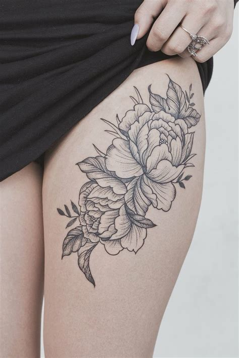 Outline On Hip by Best 25 Thigh Tattoos For Ideas On Thigh Tattoos Thigh Tattoos