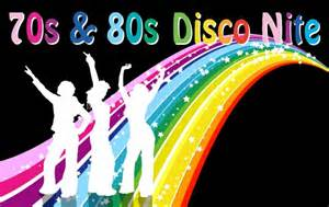 70s amp 80s disco nite club calendar exmouth rfc